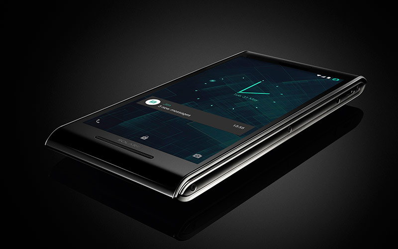 The Android Smartphone for the Rich and Famous