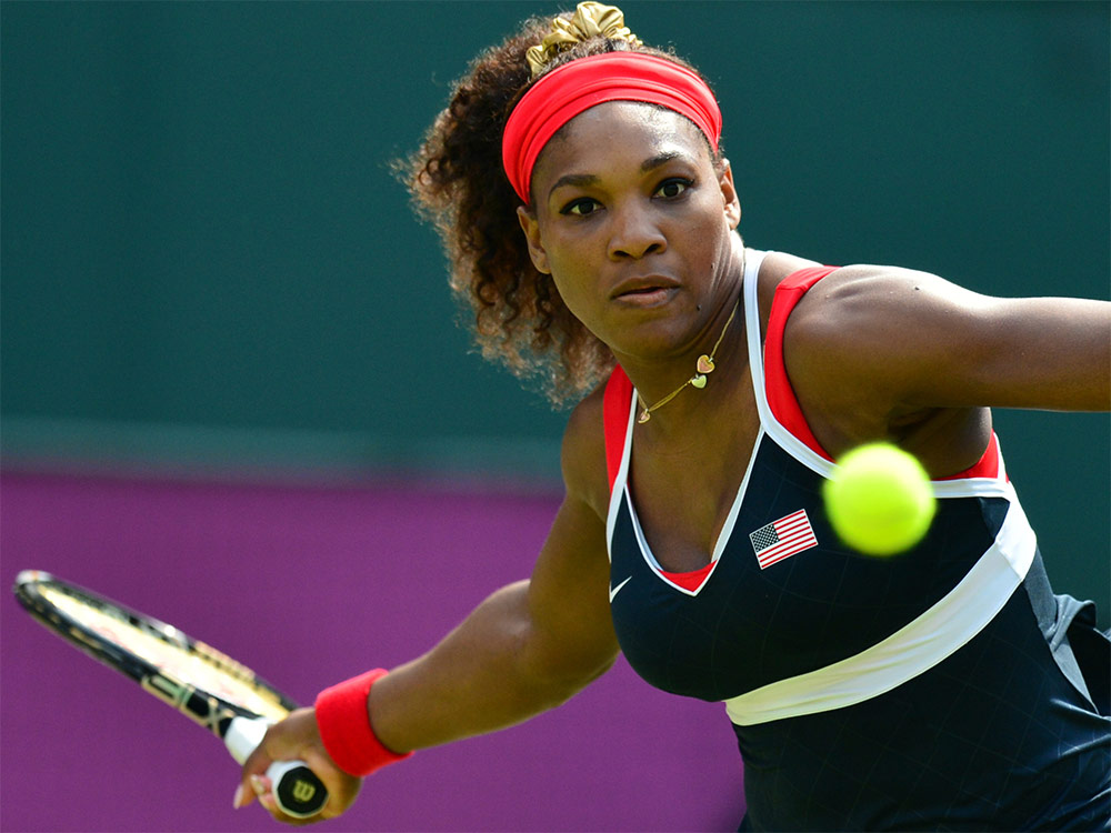 Serena Williams - highest-paid female athlete