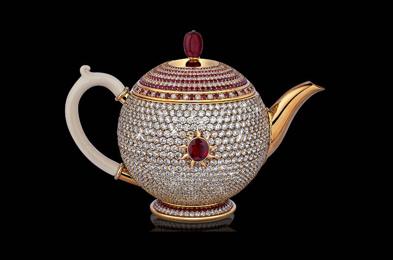 World's Most Expensive Teapot Unveiled