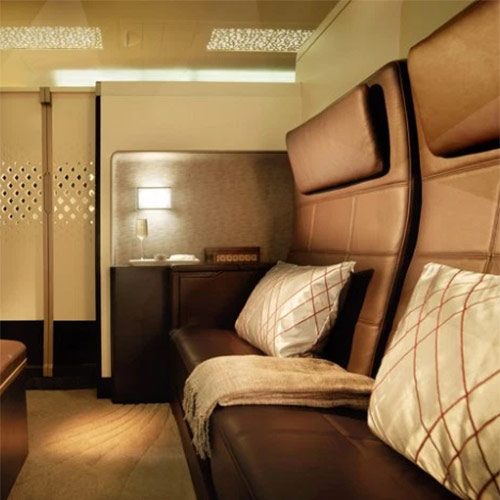 4. The Most Luxurious Flight