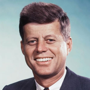 9. John F. Kennedy's impeccable thick brown hair in a bag: $4,160