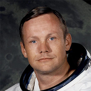 10. Neil Armstrong's salt and pepper strands of hair: $3,000